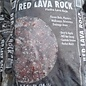 Lava Rock - Red - BAG - .5cf