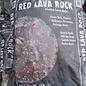 Red Lava Rock Bag - .5cf