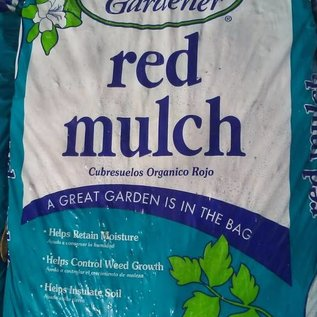 Red Mulch BAG - 2 cu ft