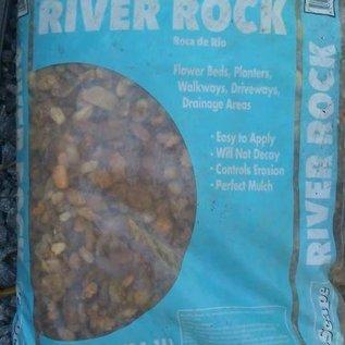 River Pebbles BAG- .5 Cu Ft