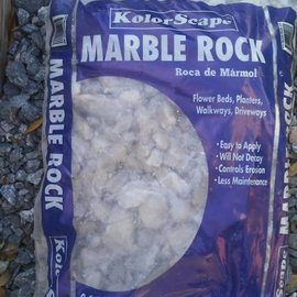 Marble Chips - White - BAG - .4 cu ft