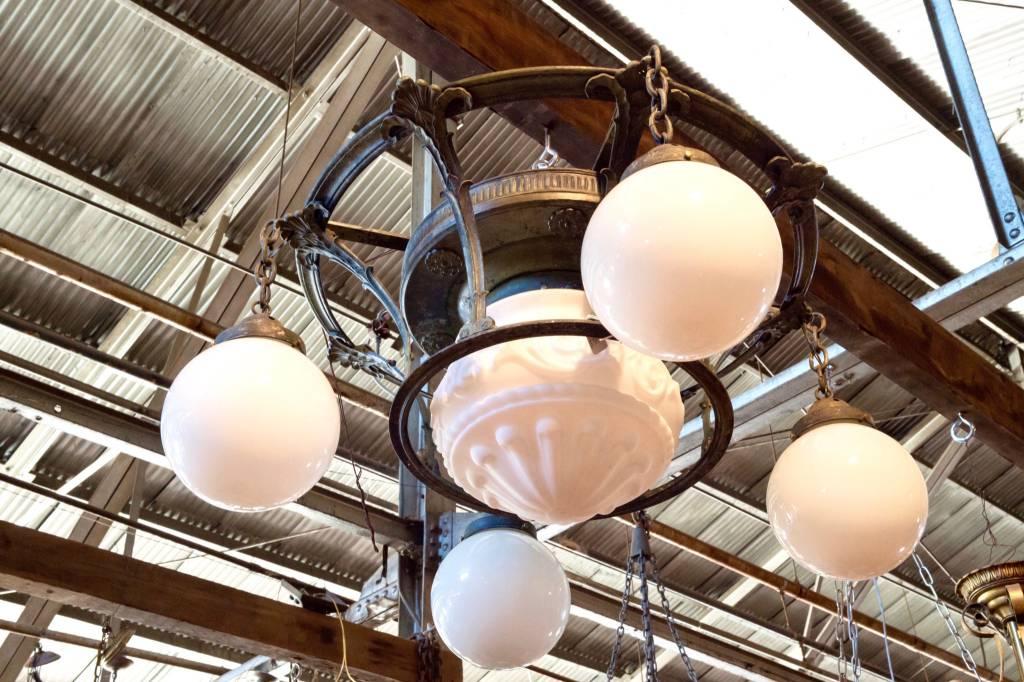 5 Light Victorian Chandelier