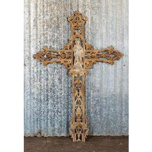 Brown Rustic Cross
