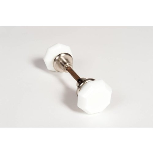 Emtek Milk Glass Door Knobs - Pair