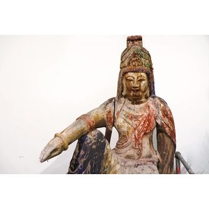 Wooden Idol of Eastern Deity