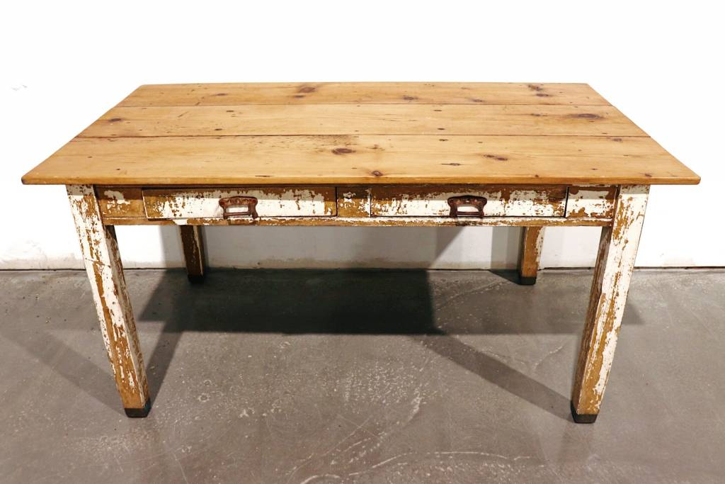 2 Drawer Wooden Table