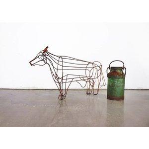 Cast Iron Cow - Lawn Art