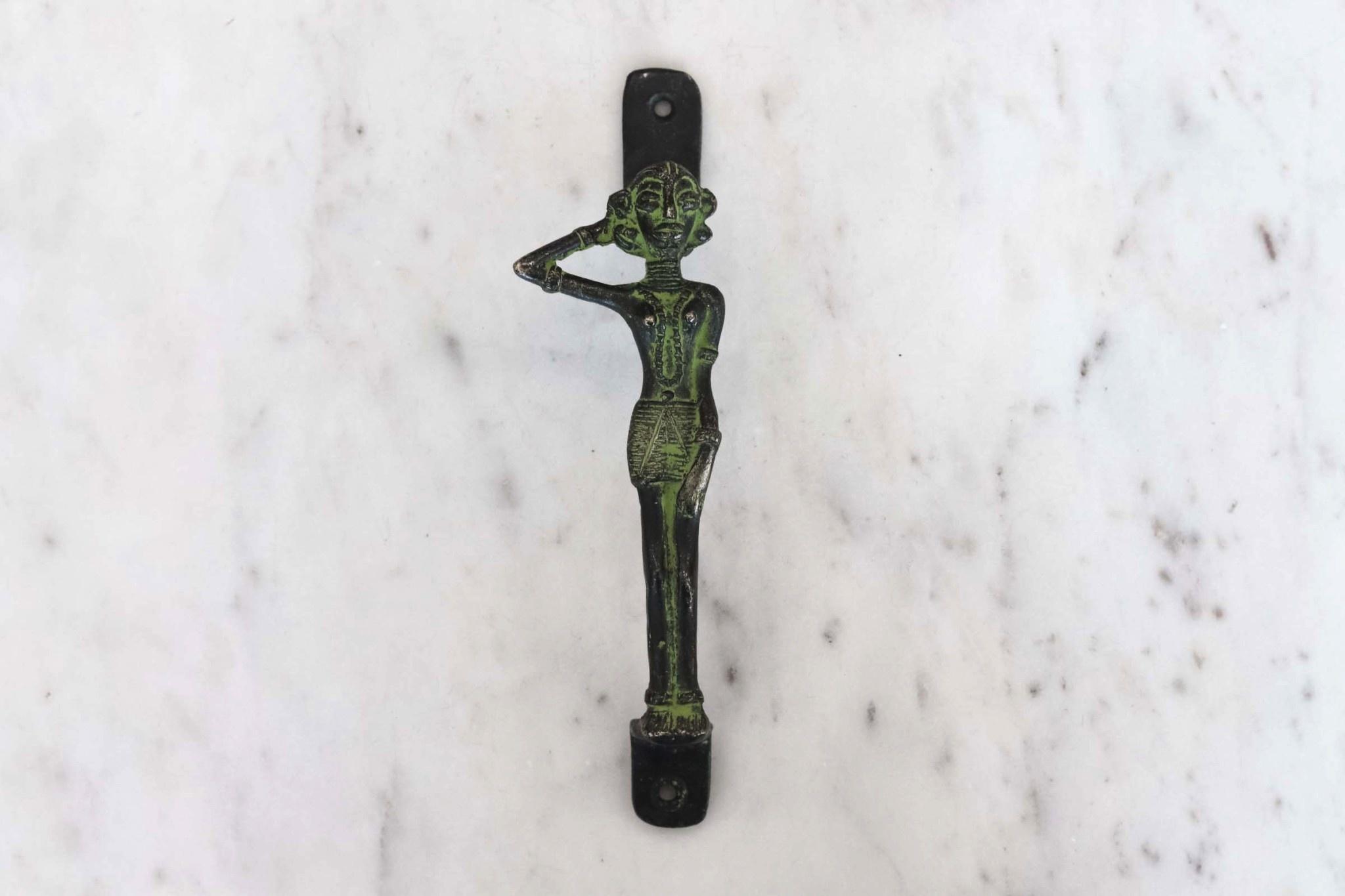 Brass Girl Door Handle from India