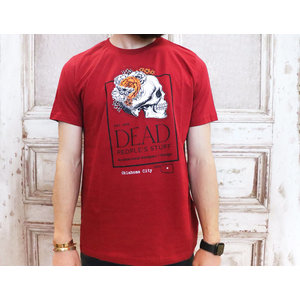 Dead People's Stuff Cardinal Red Crew Neck Shirt