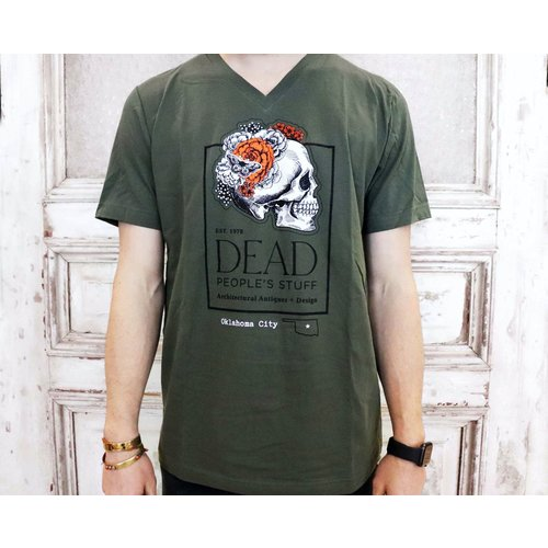 Dead People's Stuff V-Neck Shirt