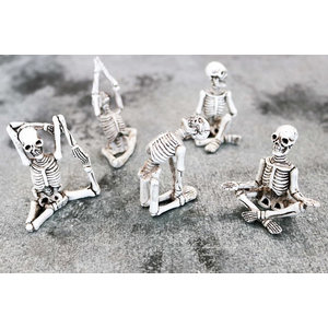 Yoga Skeletons- 5 Pack Set