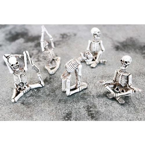 Yoga Skeleton - 5 Pack Set