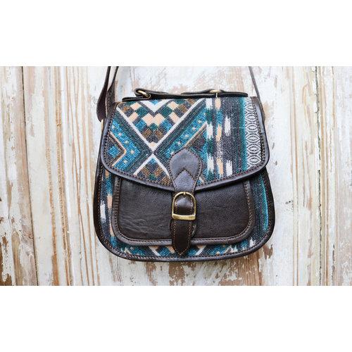 Fabric Leather Bag