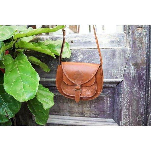 Light Brown Leather Bag