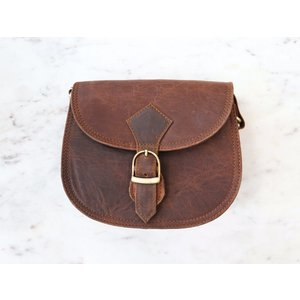 Street & Book Smart Leather Bag