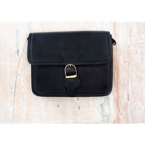 Marshé Lil Black Leather Bag