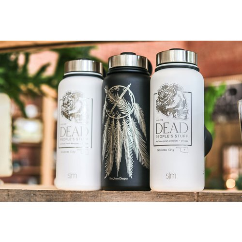 Dead People's Stuff Engraved Design- Osage Shield 32oz Thermo