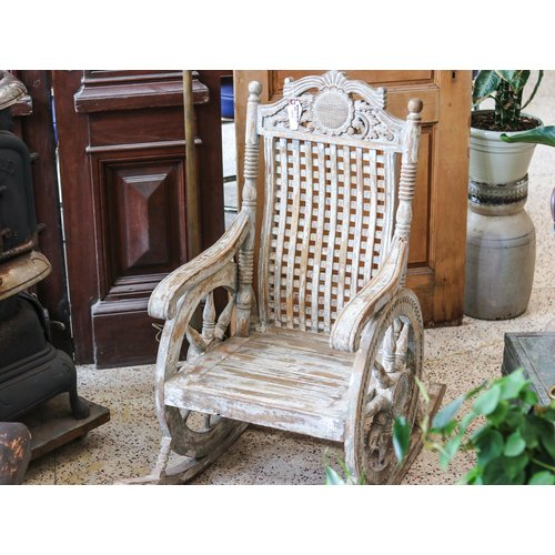 """Chariot"" Rocking Chair from Northern India"