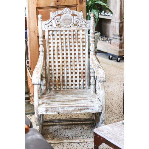 """""""Chariot"""" Rocking Chair from Northern India"""
