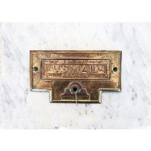Brass U.S. Mail Slot