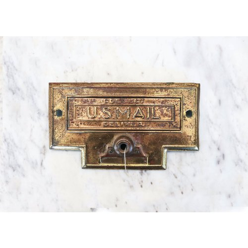 Brass U.S. Mail Slot