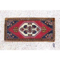 dps new Turkish hands-on vintage rug -19 x 35