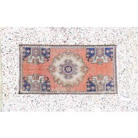 Turkish Handspun Vintage Rug - 18 x 35