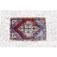 Turkish Handspun Vintage Rug - 20 x 30