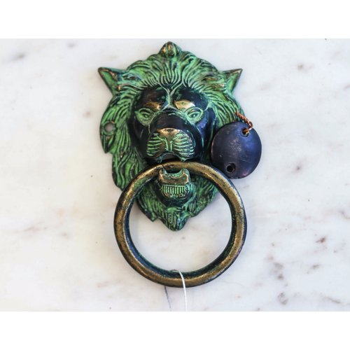 Lion's Head Door Knocker