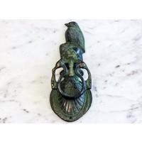Brass Standing Bird Door Knocker