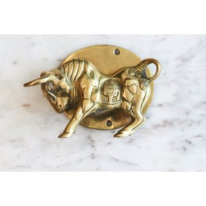Wild Bull Door Knocker from India