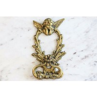 Ornate Cherubim Door Knocker