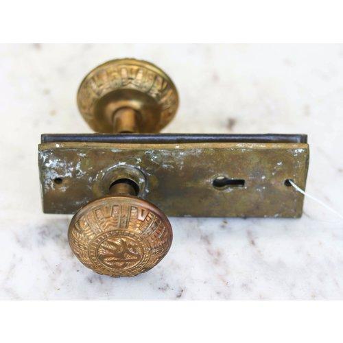 Pair of Arabic Door Knobs from 1880