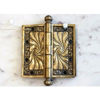 Pair of Victorian Brass Hinges