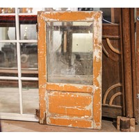 Mirror with Wooden Panel