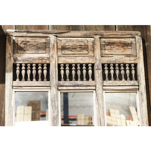Reclaimed Mirror Partition from Northern India