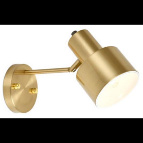 Modern Brass Indoor Sconce Light