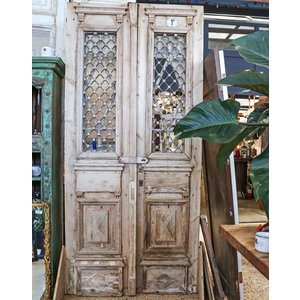 1 Panel 9 Light Double Doors from Egypt