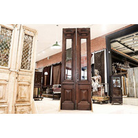 Pair of Large Old English Double Doors