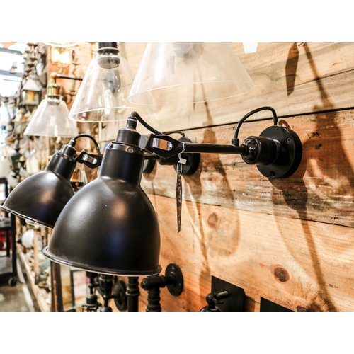 Black Industrial Sconce Light with Adjustable Arm