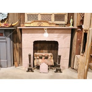 Pink Granite Mantel