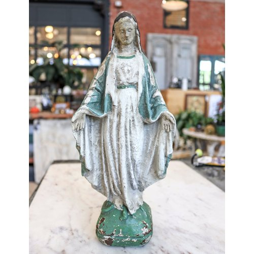 Vintage Virgin Mary Statue- Reproduction