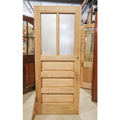 3 Panel 2 Light Door with Florentine Glass