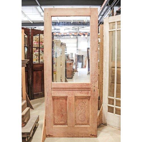 2 Panel Half Light Through Tenon Door
