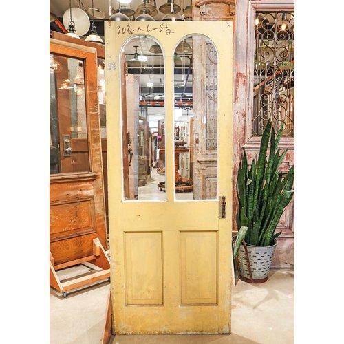 2 Panel 2 Arched Light Through Tenon Door