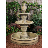 Light Walnut Royale Fountain with Pool