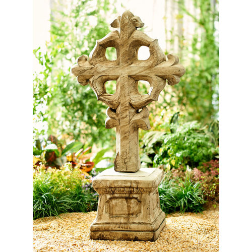 Ancient Age Byzantine Cross with Pedestal