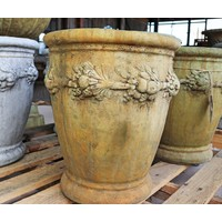 Ancient Aged Large Cherry Planter