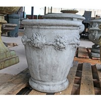 Aged Stone Large Cherry Planter