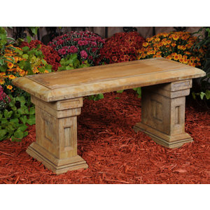 Light Walnut Short Estate Bench - Biltmore Collection